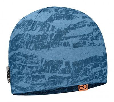 Čiapka Ortovox 120 Tec Beanie - blue sea