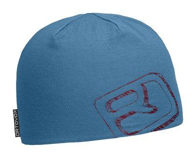 Čiapka Ortovox 145 Ultra Beanie - blue sea