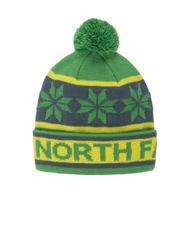 Čiapka The North Face Ski Tuke III - Flashlight Green