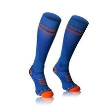 Podkolienky Compressport Full Socks V 2.1 - blue