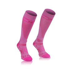 Podkolienky Compressport Full Socks V 2.1 - pink
