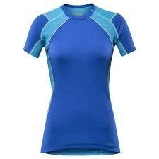 Dámske tričko Devold Energy - Modré