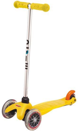 Detská kolobežka Mini Micro žltá