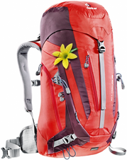 Batoh Deuter ACT Trail 28 SL - fire-aubergine