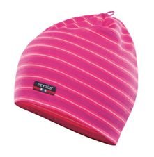 Devold Breeze Cap - fuchsia stripes