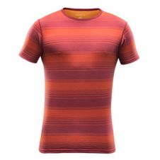 Termoprádlo Devold Breeze Man T- Shirt - syrah stripe