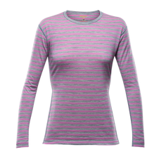 Termoprádlo Devold Breeze Woman Shirt - peony stripes