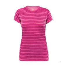 Termoprádlo Devold Breeze Woman T-shirt - fuchsia stripes