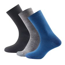 Ponožky Devold Daily Light Sock 3PK - indigo mix