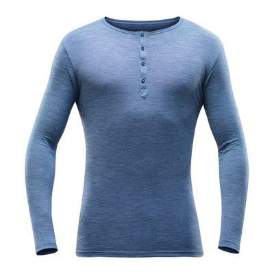 Termoprádlo Devold Hessa Man Button Shirt - allure melange