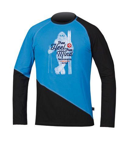 Directalpine BCS Shirt - blue/black Yetti