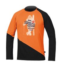 Directalpine BCS Shirt - orange/black Yetti