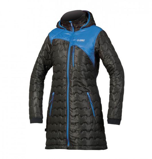 Directalpine Block Coat - black/blue