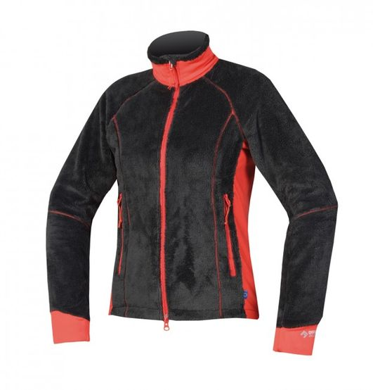 Directalpine bunda lava lady - black/red