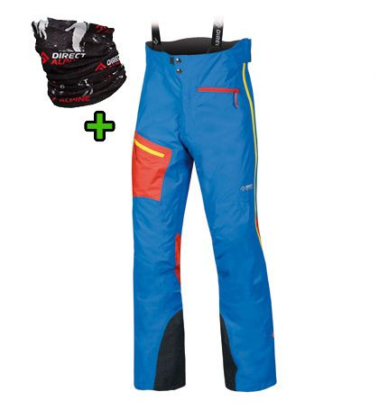 Directalpine Devil Alpine pants - blue/red