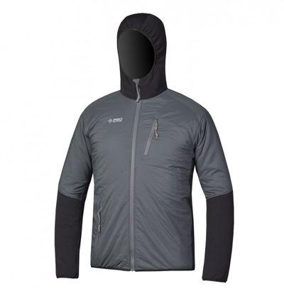 Directalpine pánska bunda Alpha - black/grey