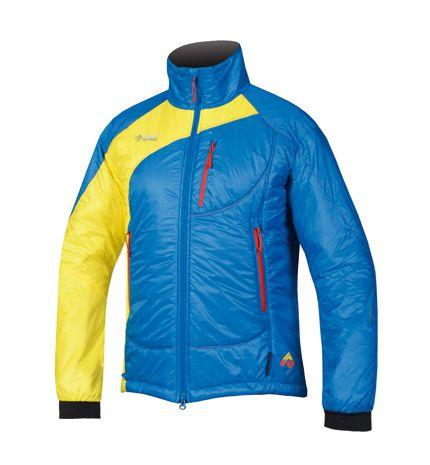 Directalpine pánska bunda Belay - blue/yellow