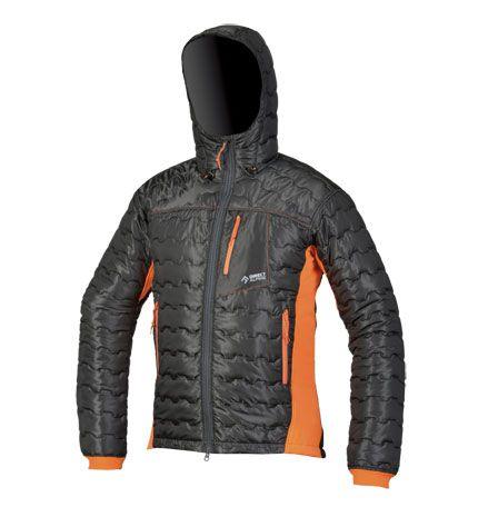 Directalpine pánska bunda Block - black/orange