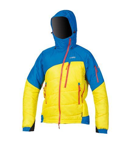 Directalpine pánska bunda Foraker - yellow/blue