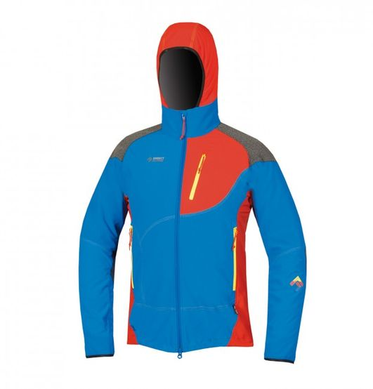 Directalpine pánska bunda Jorasses - blue/red