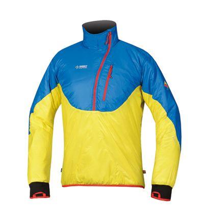 Directalpine pánska bunda Pulover Flake - yellow/blue