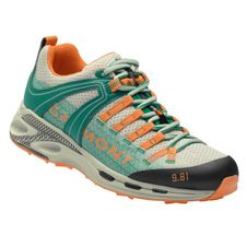 Turistická obuv Garmont 9.81 Speed III WMS - light grey/teal green
