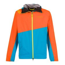 Gore Tex bunda La Sportiva Zagros GTX Jacket Men - pumpkin/tropic blue