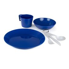 GSI Outdoors Cascadian 1 Person Table Set - Blue