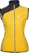 Vesta High Point Drift Lady Vest - yellow/carbon