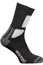 Ponožky High Point Mountain 2.0 Merino Socks - black