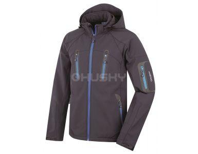 Husky pánska bunda Bristel New - antracit modrá