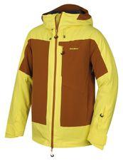 ba1baba4dbb8 Husky Pánska lyžiarska bunda Gotha M sv. žlutá