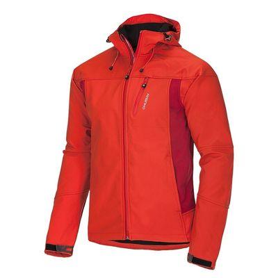 Softshellová bunda Husky Apeli M - oranžová