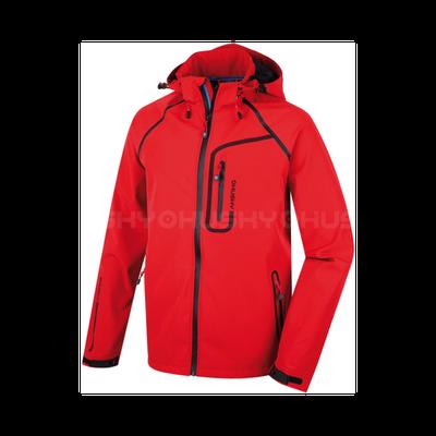 Softshellová bunda Husky Badis - červená