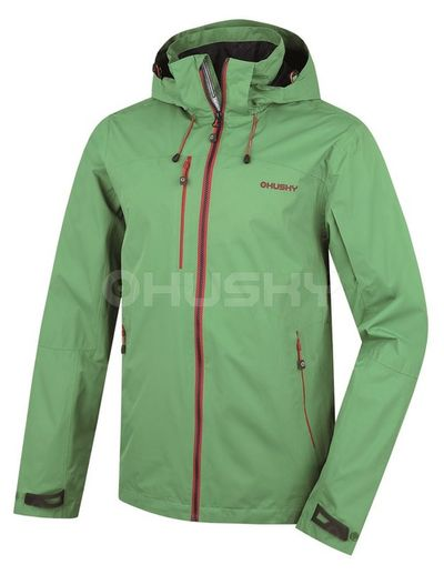 Membránová bunda Husky Lima M - zelená