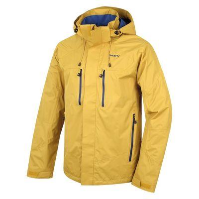 Membránová bunda Husky Natel M - tm. žltá