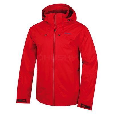 Membránová bunda Husky Nelory M - červená