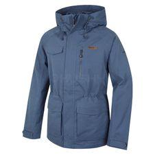 Membránová bunda Husky Nigl M - tm.modrá