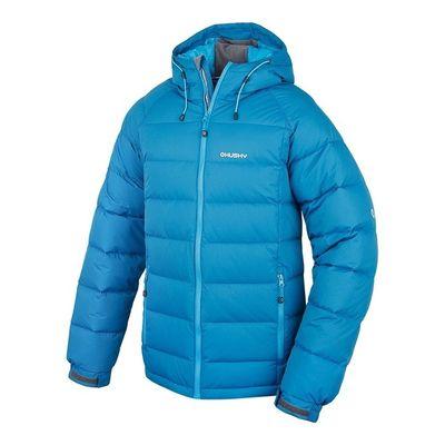 Páperová bunda Husky Heral M -20°C - modrá
