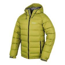 Páperová bunda Husky Heral M -20°C - zelená