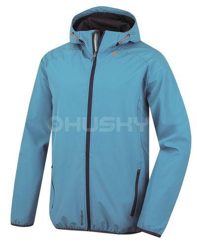 Softshellová bunda Husky Sally M - modrá