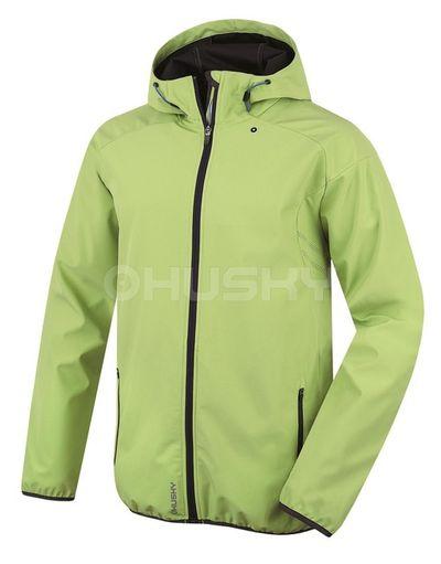 Softshellová bunda Husky Sally M - zelená