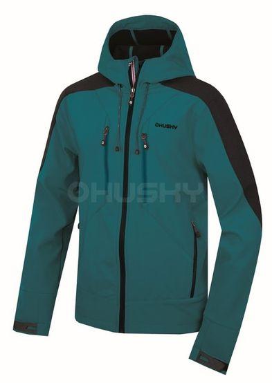 Softshellová bunda Husky Sevan M - modrá