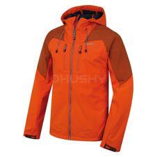 Softshellová bunda Husky Summy M - oranžová