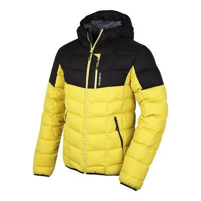Páperová bunda Husky Flory M - žltá