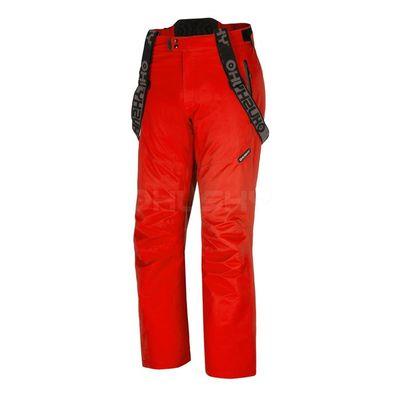 Husky Pánske lyžiarske nohavice Meng červená