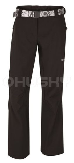 Husky Pánske outdoor nohavice Lastop L čierna