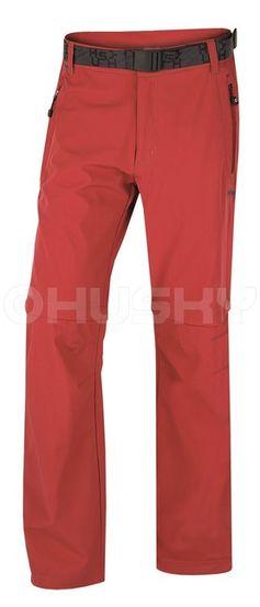 Husky Pánske outdoor nohavice Pilon M New červená