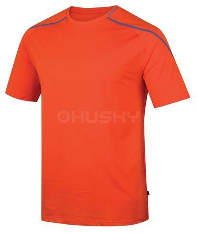 Husky Pánske tričko Taury M oranžová