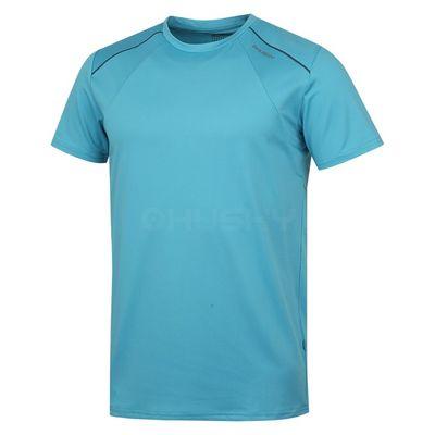 Husky Pánske tričko Telly M modrá/tm.šedá
